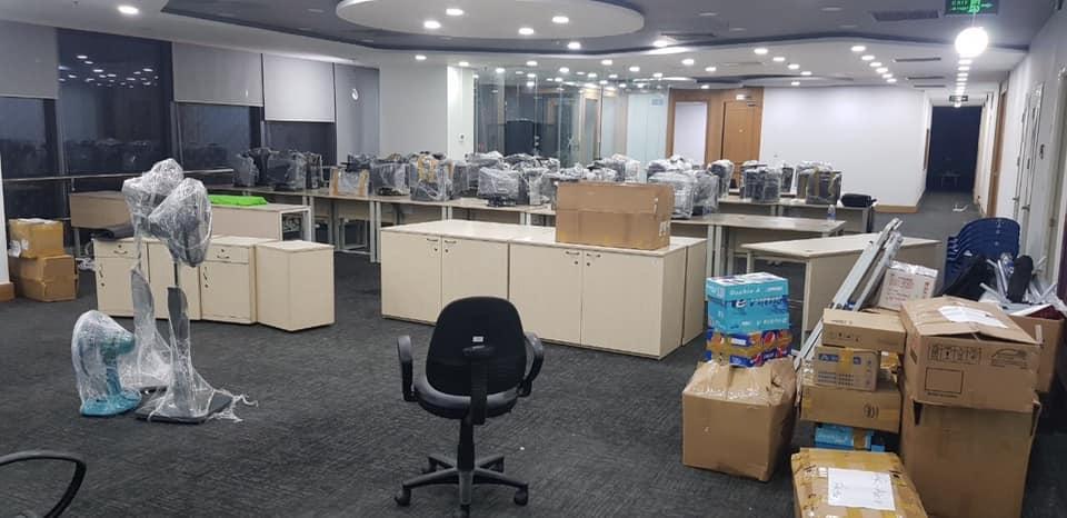 Chuyển văn phòng giá rẻ HCM - Thành Tâm Express Chuyển Văn Phòng